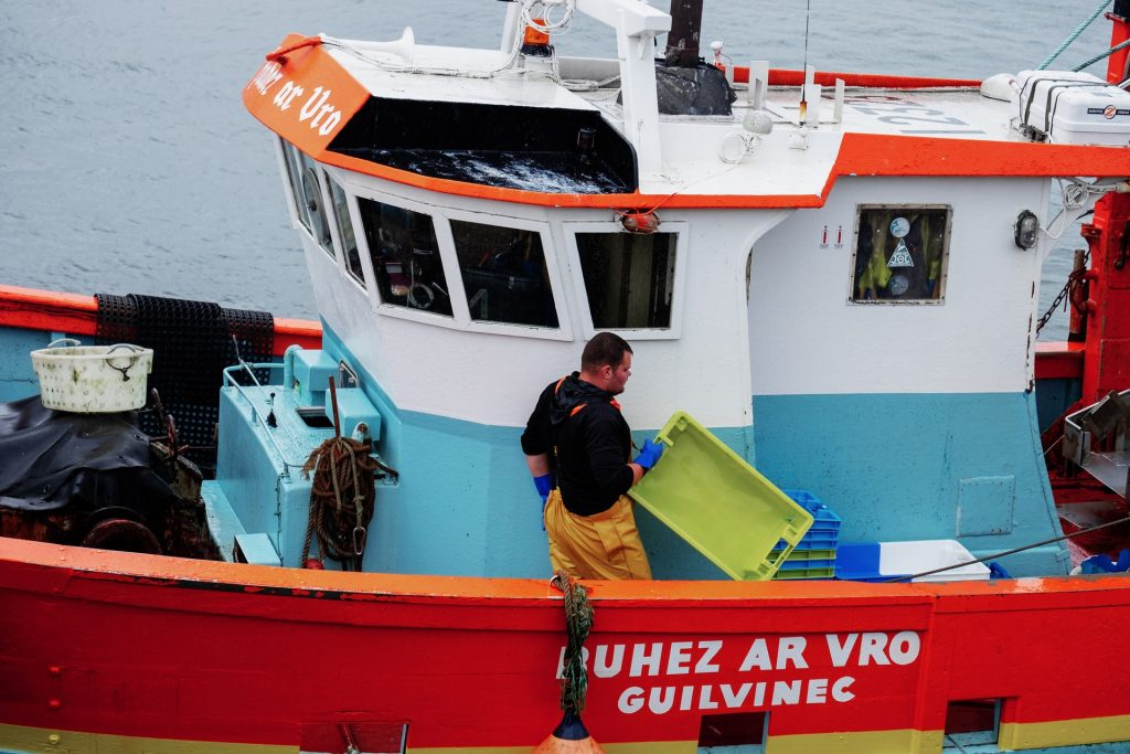 bateau de pêche à guilvinec