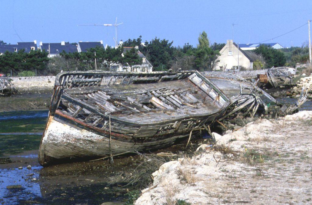 Cimetière de bateaux Guilvinec
